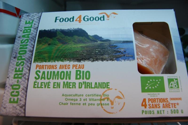 saumon bio sur suamon bio food4good. Black Bedroom Furniture Sets. Home Design Ideas